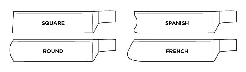 Preklopna britev oblika konice