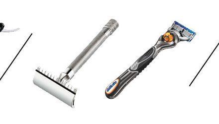Klasična preklopna britev od A do Ž